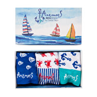 Picture of   Biggdesign Anemoss Men's Socks Set by Gamze Yalçın