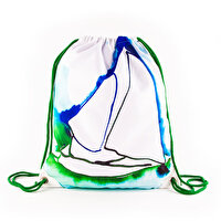 Picture of BiggDesign AnemosS Pupa Patterned Drawstring Backpack