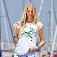 Picture of BiggDesign AnemoSS Green Crab Woman's T-Shirt
