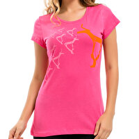 Picture of BiggDesign B.C.3000 Deer Woman's T-Shirt L