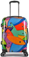 Picture of BiggDesign Fertility Fish Mid-size Suitcase 24""