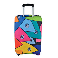 Picture of BiggDesign Fertility Fish Luggage Cover