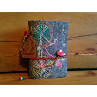 Picture of BiggDesign Bicycles  Felt Note Book