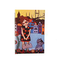 Picture of BiggDesign Floral Girl Note Book 9x14