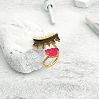 Picture of BiggDesign My Eyes & Lips Ring