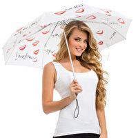 Picture of BiggDesign White Mini Umbrella Multi-Language