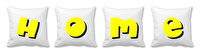 Picture of BiggDesign Home Yellow White Quart Pillow Case