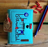 Picture of BiggDesign Felt Istanbul Note Book