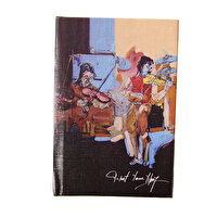Picture of BiggDesign Violinists Notebook 9x14 cm