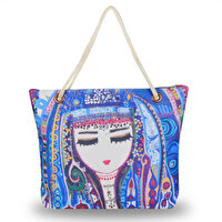 Picture of BiggDesign Blue Water Beach Bag