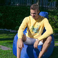 Picture of BiggDesign Nature Bicycle in Bosphorous Man Sweatshirt By Aysu Bekar