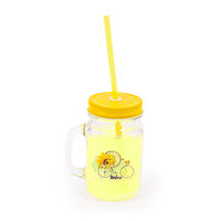 Picture of   Biggdesign Nature Yellow Lemonade Jar Mug With Handle by Aysu Bekar