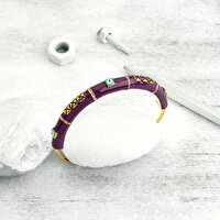 Picture of BiggDesign Evil Eye Purple Bracelet