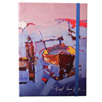 Picture of BiggDesign Rowing-Boat Notebook 14x20 cm