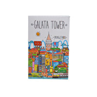 Picture of BiggDesign  Smiling Istanbul Galata Playing Card
