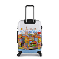 Picture of BiggDesign Smiling Istanbul Galata Suitcase 24 ""
