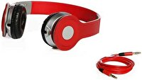 Picture of BIGGSOUND Red Headphones