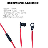 Picture of Goldmaster Hp-176 Microphone Headset