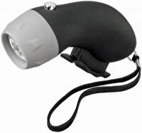 Picture of GREEN CONCEPT 19538529 Dynamo Flashlight Black