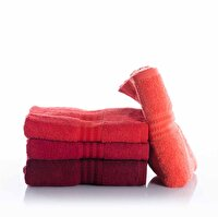 Picture of  Hobby Hand Towel Rainbow 4 Red