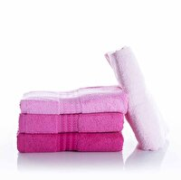 Picture of  Hobby Hand Towel Rainbow 4 Pink