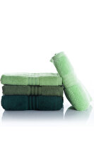 Picture of Hobby Hand Towel Rainbow 4 pcs - Green