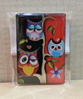 Picture of Monatitti Three Owls Magnet