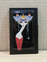Picture of Monatitti Woman with Earring Card Case