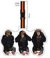 Picture of NEKTAR Lh173 3 Monkey Luggage Tag