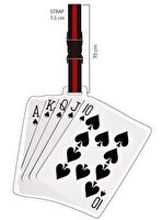 Picture of NEKTAR Lh268 Poker Luggage Tag
