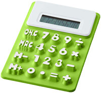 Picture of PF CONCEPT 12345404 Green Silicone Calculator