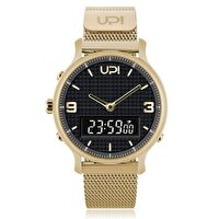 Picture of Upwatch Double Steel Gold Black Unisex Wrist Watch