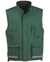 Picture of Us Basic 31420673 Dalby Double-Sided Vest Green L
