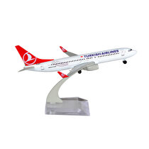 product imageTK Collection B737 800 1/250 Plastik Model Uçak