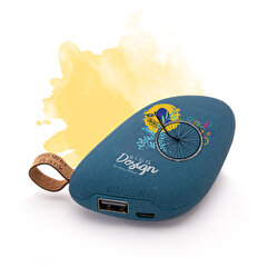 product image   Biggdesign Nature Taş Powerbank Lacivert by Aysu Bekar