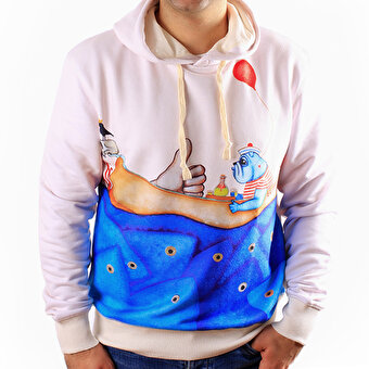 Biggdesign Mr. Allright Erkek Sweatshirt