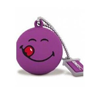 Emtec Sw100 8Gb Usb Bellek Smiley Yellow