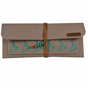 Picture of  BiggDesign B.C.3000  Deer Patterned Felt Wallet
