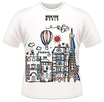 Picture of  TK Collection France T-Shirt Large