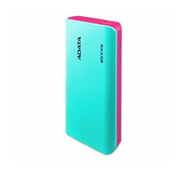 Picture of ADATA Powerbank PT100 Blue/Pink 10000 mAh with Flashlight