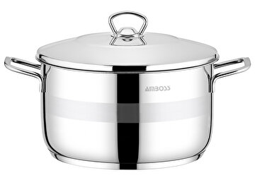 Picture of  Amboss Stone Stainless Steel Stockpot - 20 x 11 cm