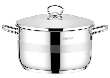 Picture of  Amboss Stone Stainless Steel Stockpot - 30 x 18 cm