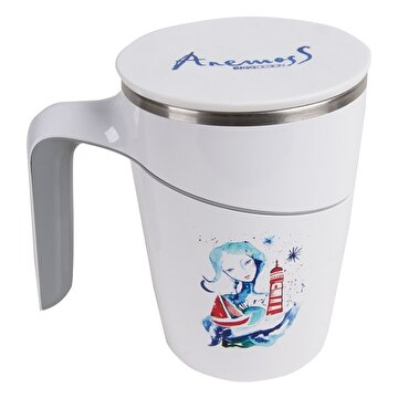 Picture of  AnemosS 'Marine Girl' Vacuum Suction Mug, 470 ml