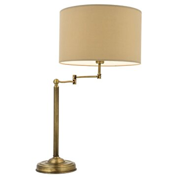 Picture of  Avonni HML-9096-1E Antique Plated Table Lamp