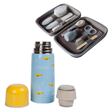 Picture of  Babyjem Thermos 350ml & Baby Grooming Set