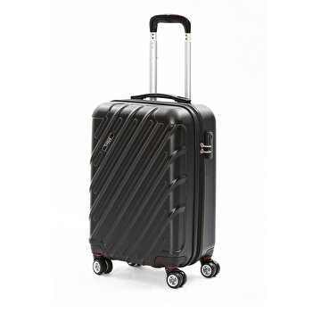 Picture of  Baggaj V215 ABS Medium Size Suitcase - Black