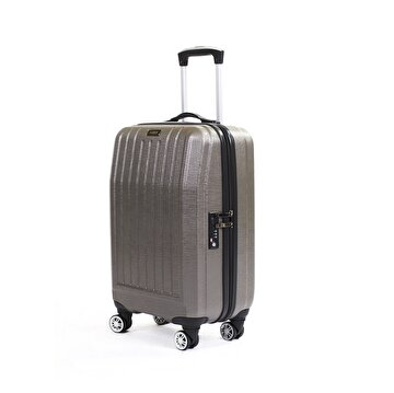 Picture of  Baggaj V303 ABS Cabin Size Suitcase - Silver