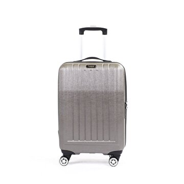 Picture of  Baggaj V303 ABS Large Size Suitcase - Silver