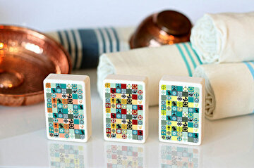 Picture of BiggDesign Anatolian Motifs 3 Pcs Soap Set