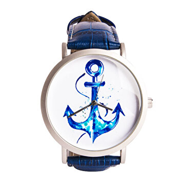 Picture of BiggDesign AnemoSS Anchor Men's Wrist Watch, Leather Belt, Special Design by Turkish Designer